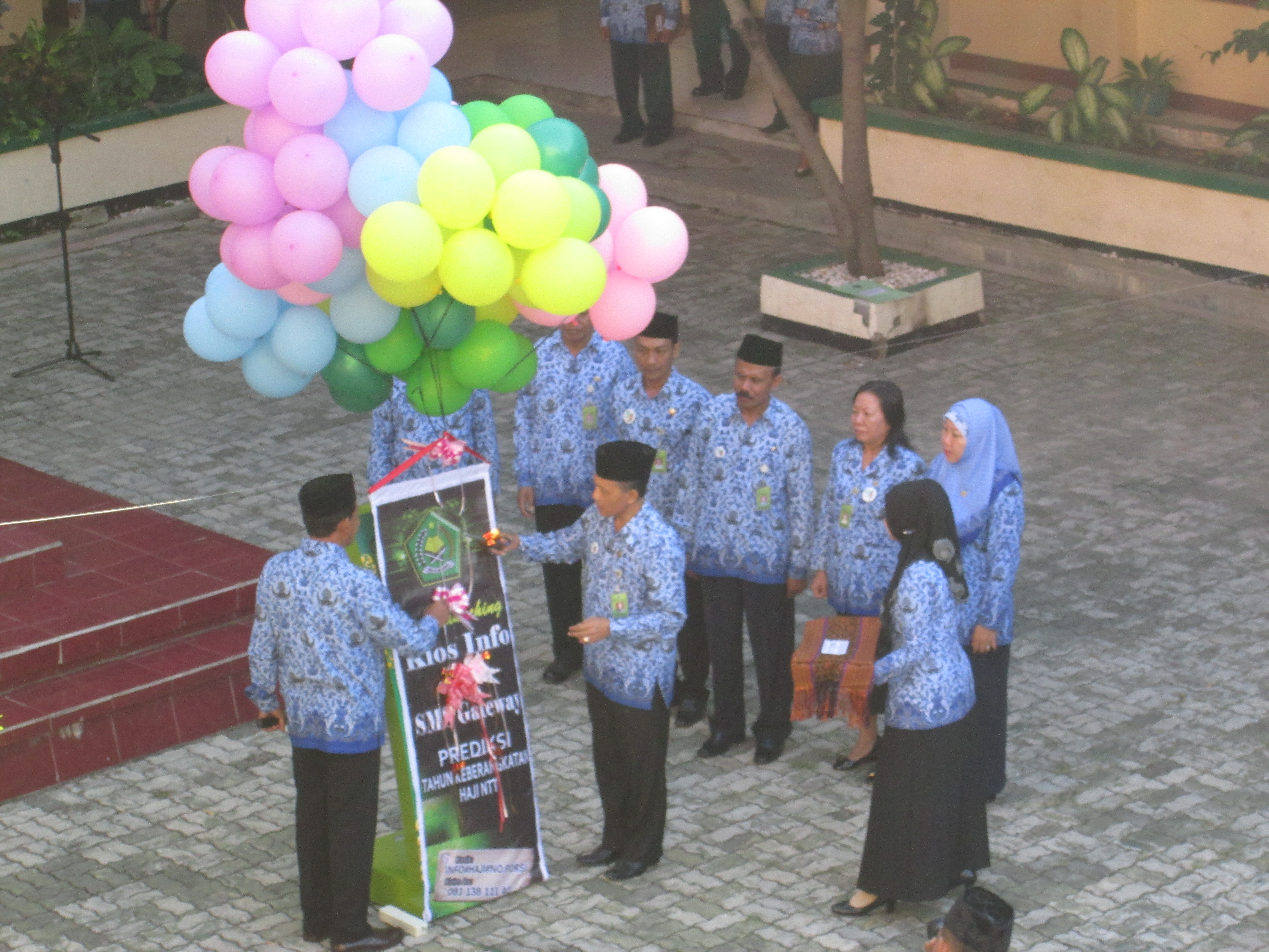 Launching Kios Info Haji